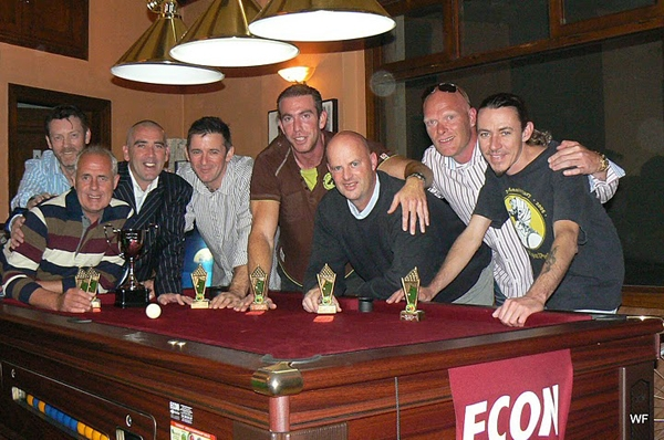 pool league winners 2009 2010